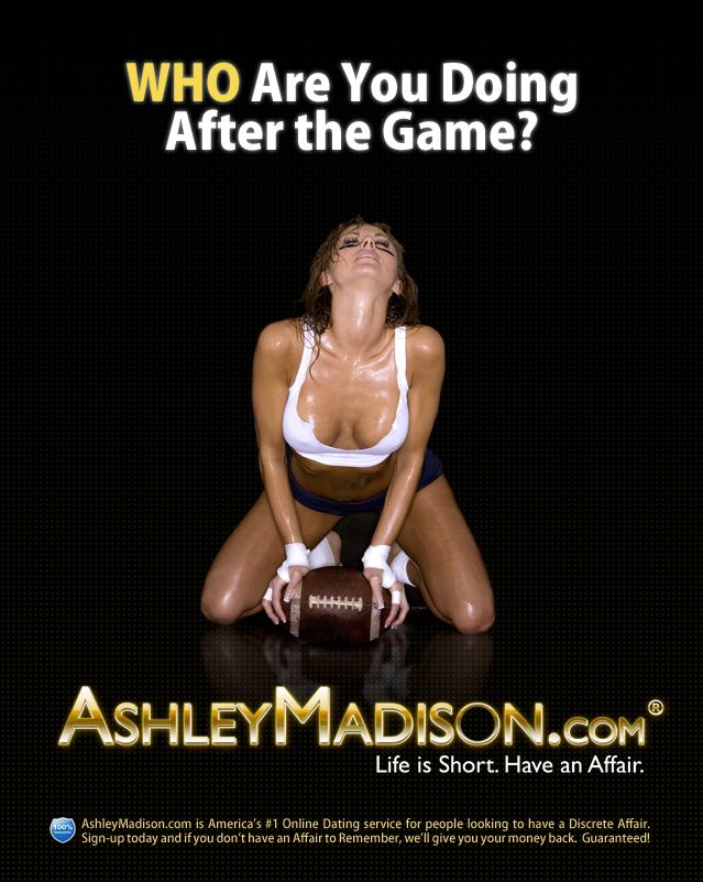 AshleyMadison.com, a dating site geared toward married people who want to  have affairs