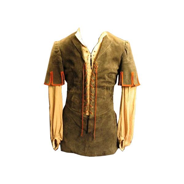 Mens Medieval Doublet ❤ liked on Polyvore featuring men's fashion, medieval, gawain, men and shirts