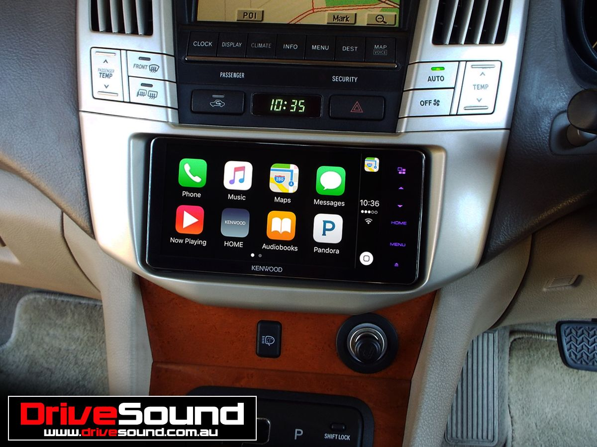 Lexus Rx330 With Apple Carplay Installed By Drivesound Retail