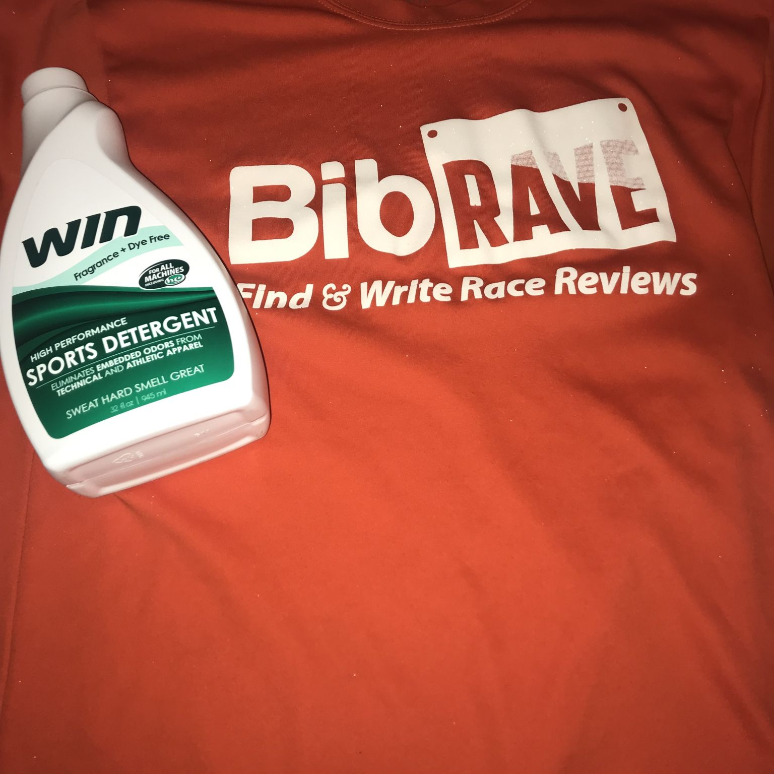 BibRave Product Review WIN Laundry Detergent Laundry