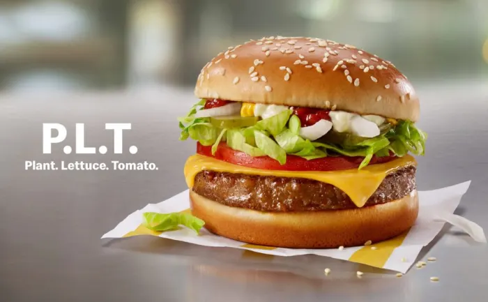 Mcdonald S To Launch Beyond Meat Burger In Canada Plant Based Burgers Beyond Meat Burger Vegan Fast Food