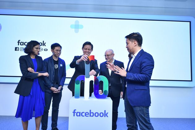 Facebook moves into an expanded office space at Marina One