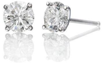 1 Carat Diamond Stud Earrings Versatile Jewels Complimenting All Outfits Diamond Earrings Studs Round Diamond Earrings Studs Diamond Studs