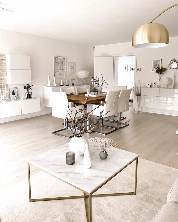 """Photo of Sabrina Roeder on Instagram: """"Guten Morgen und einen schönen Donnerstag meine Lieben ? [Werbung,Verlinkung] #livingroom #whiteinterior #magnolie #homesweethome…"""""""