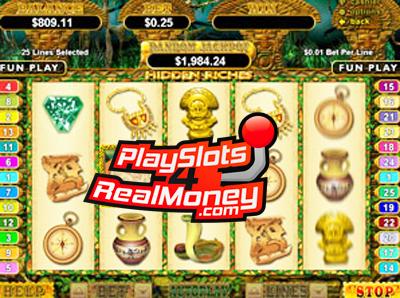 Hidden Riches Progressive Slot Jackpot Review & Bonuses