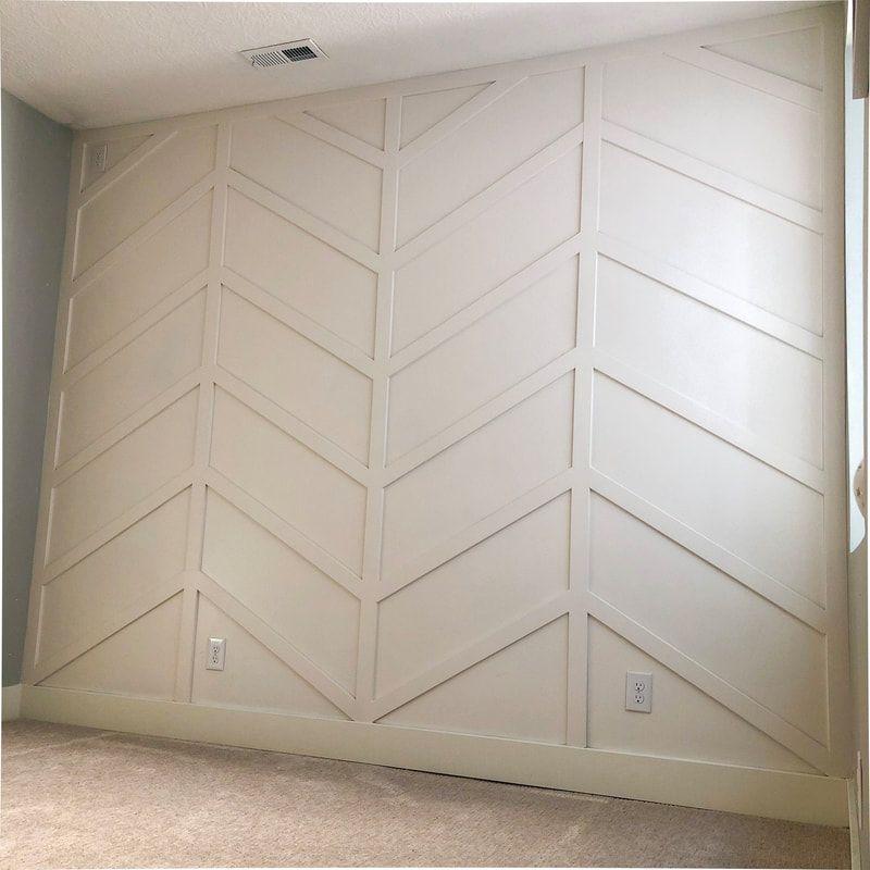 Herringbone Board And Batten Wall Tutorial