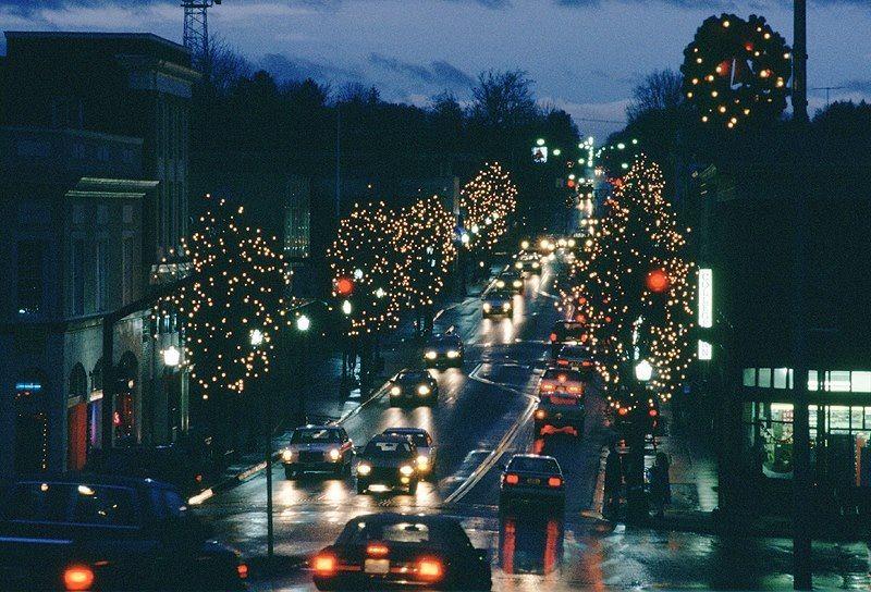 Blacksburg VA at Christmas Blacksburg va, Blacksburg