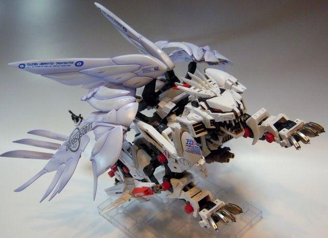 "Custom Build: HMM 1/72 Liger Zero GIA ""シャルベルフリューゲル"" Shallbell Flugel - Gundam Kits Collection News and Reviews"