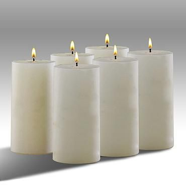 """Set of Six Conceal® 6""""H Mosquito Repellant Candles"""