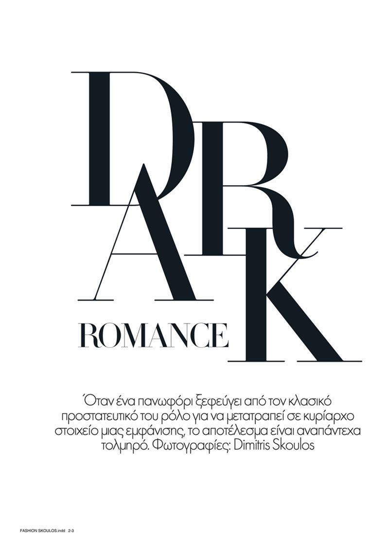 vogue hellas u201cdark romance u201d editorial design pinterest rh pinterest com vogue logo font free download vogue magazine logo font