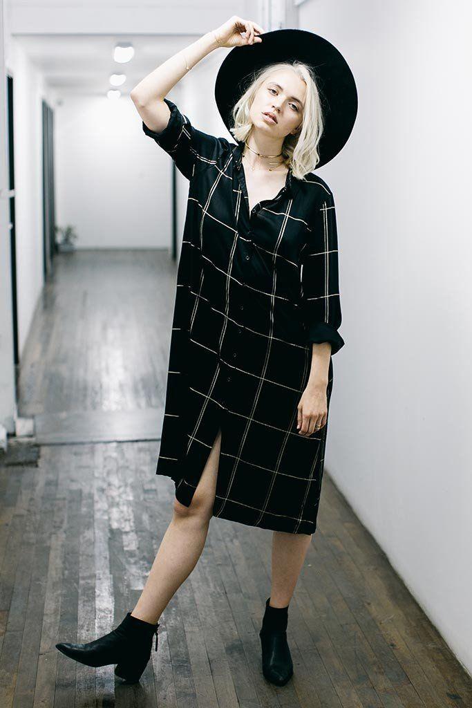PETERSON SHIRT DRESS