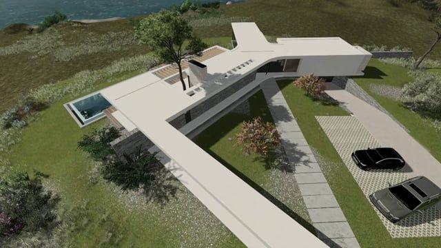 Moderne Hausentwürfe a portugal custom home design at silver coast portugal