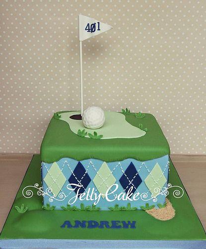 Golf Birthday Cake   Flickr - Photo Sharing!