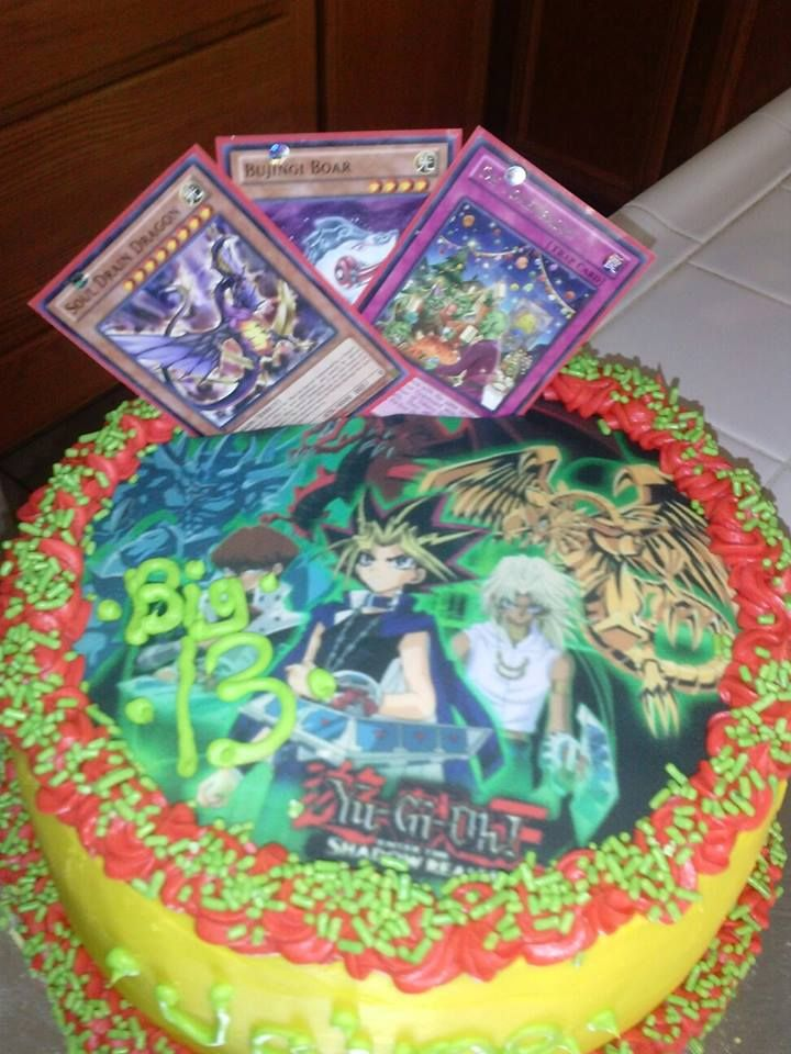 yugioh cake. | my creations!! | pinterest