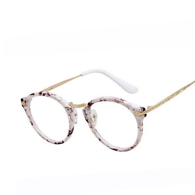00afcb1ffc Fashion Lovely Eyeglasses Frame Women transparent Lens Nerd glasses Leopard  Plastic frame Glasses Vintage Myopia Eyeglass F15019