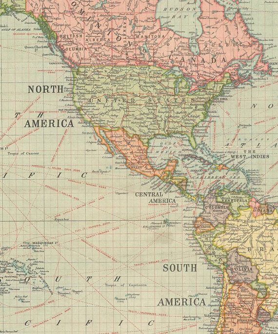 Vintage world map print 1922 world map decor world map wall art vintage world map print 1922 world map decor world map wall art world map design printable art instant download great for use in your altered art gumiabroncs Images