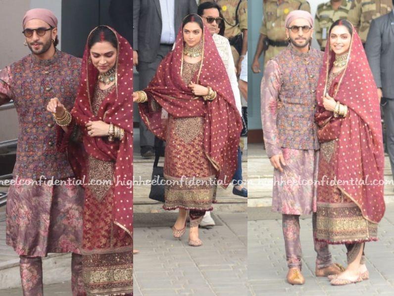 In Sabyasachi High Heel Confidential Sabyasachi Deepika Padukone Dresses Fashion