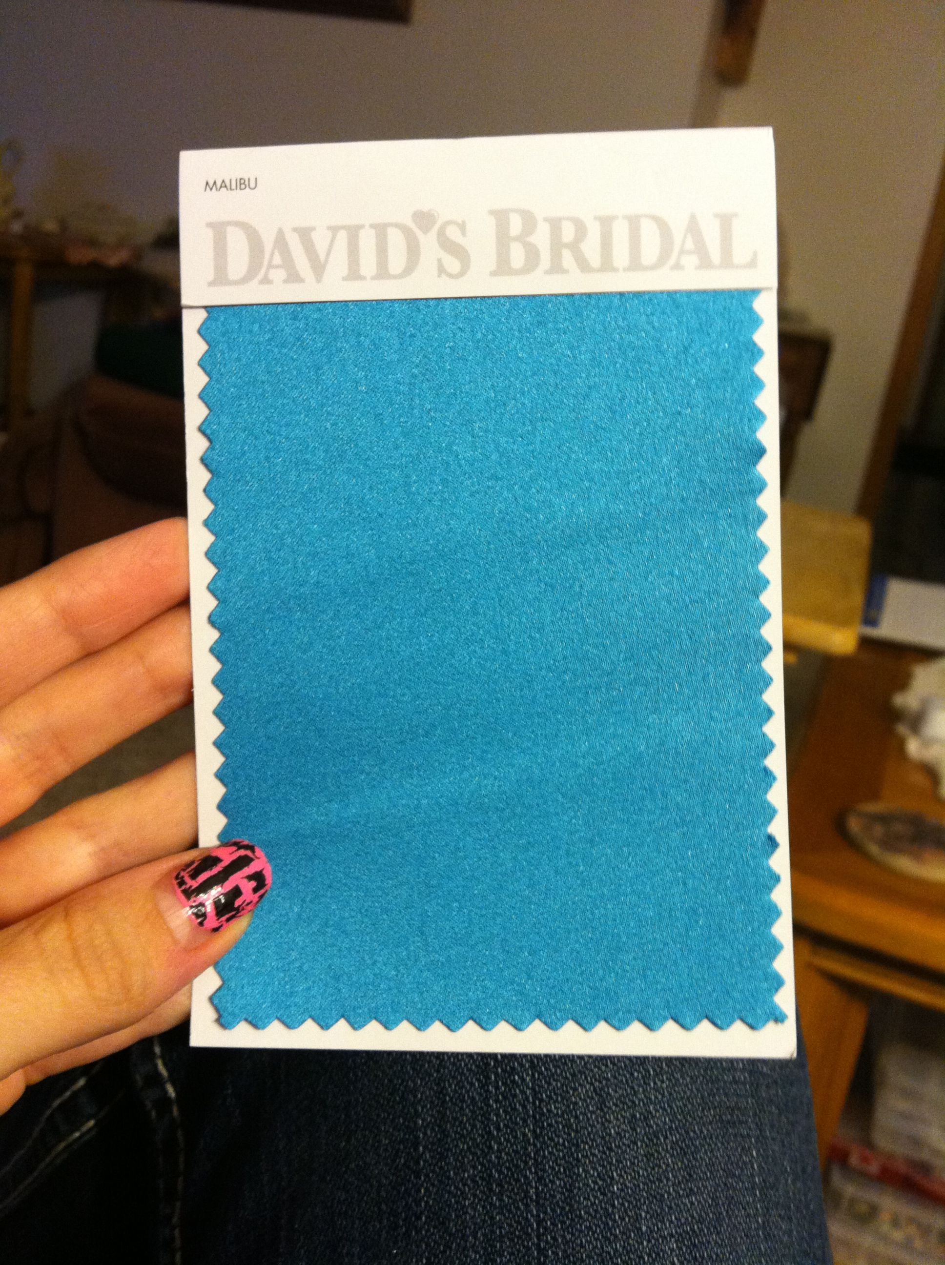 This Color Malibu Blue Is One Of My Wedding Colors