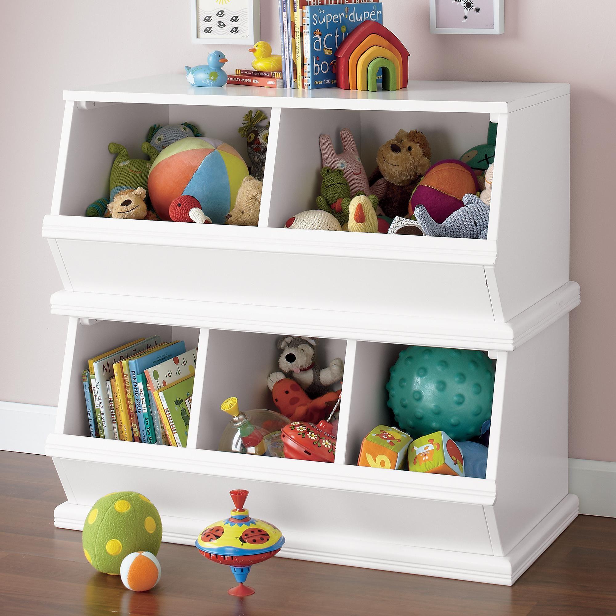 Storagepalooza Land Of Nod Kids Toy Boxes Kid Toy Storage