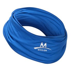 Blue Polyester Cooling Towel Cool Stuff Gaiters Scarf Headband