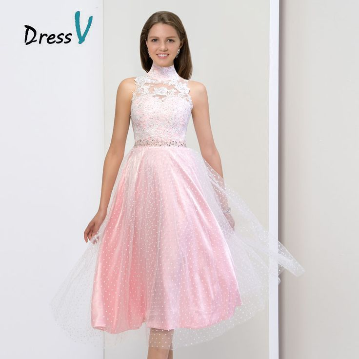 Cool Cocktail Dresses Aliexpress.com: Comprar Gorgeous pura cuello ...