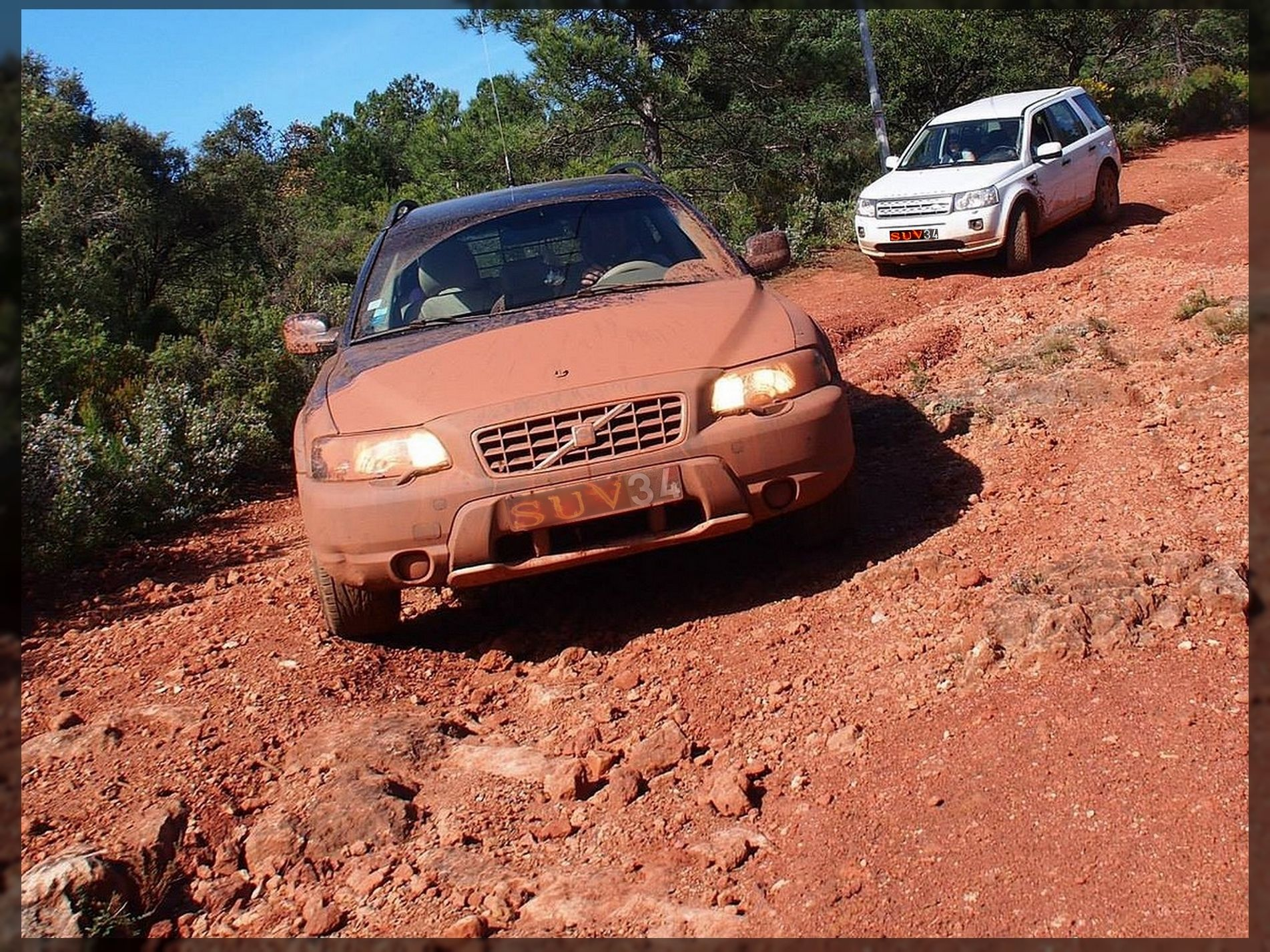 Volvo Xc70 D5 Offroad Mud Suv 34