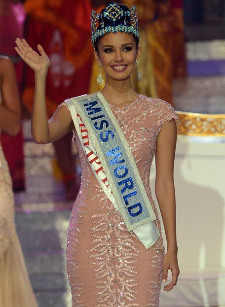 Miss world 2014 philippines Who become it this year
