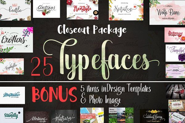 Download Closeout Package | Learning graphic design, Creative fonts ...
