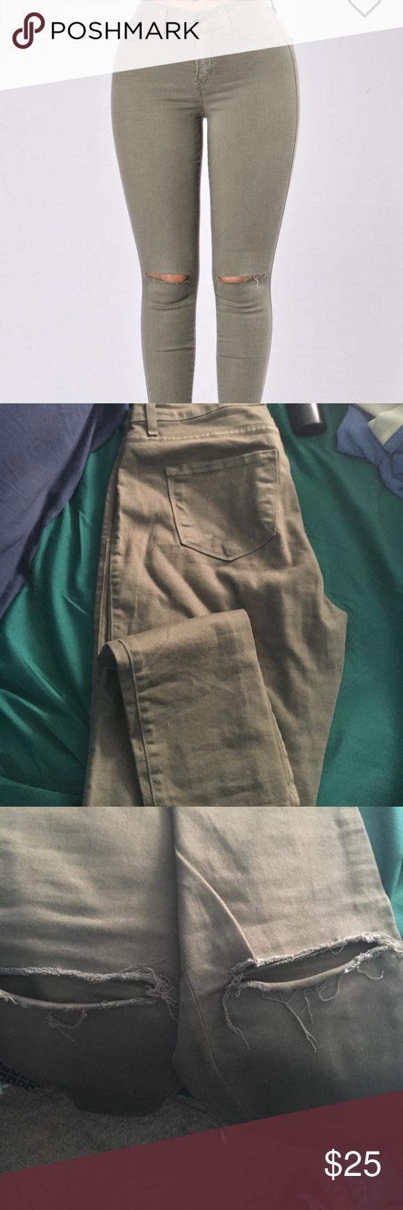 Fashion nova jeans Canopy jeans worn a handful of times Fashion Nova Jeans Skinny