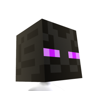 Minecraft Enderman Head 2015 Minecraft Birthday