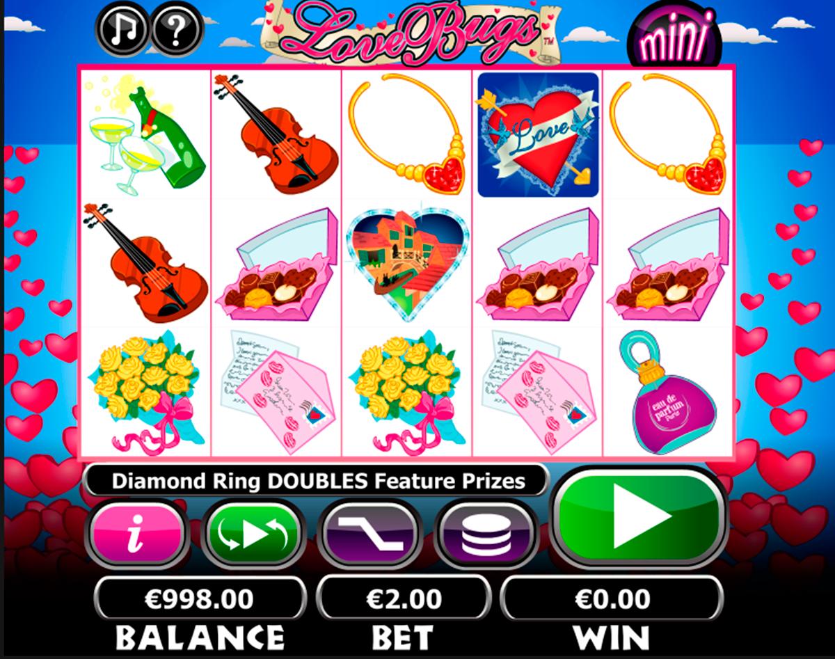 Love Bugs on erittäin hyvää kolikkopeli netissä, joka on NextgenGaming kehittääjä! Kun aloitat pelata tämän valtava kolikkopeli verkossa, sinulle avaa hyvää grafikka, ja varmasti suuri voitto! Kolikkopelissa on 5 rullat ja 20 voittolinjat.