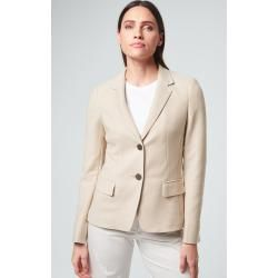 Photo of Piqué blazer in beige Windsor