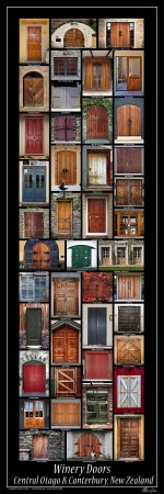 Winery Doors Poster - Central Otago u0026 Canterbury  sc 1 st  Pinterest & Winery Doors Poster - Central Otago u0026 Canterbury | Ideas for ... pezcame.com