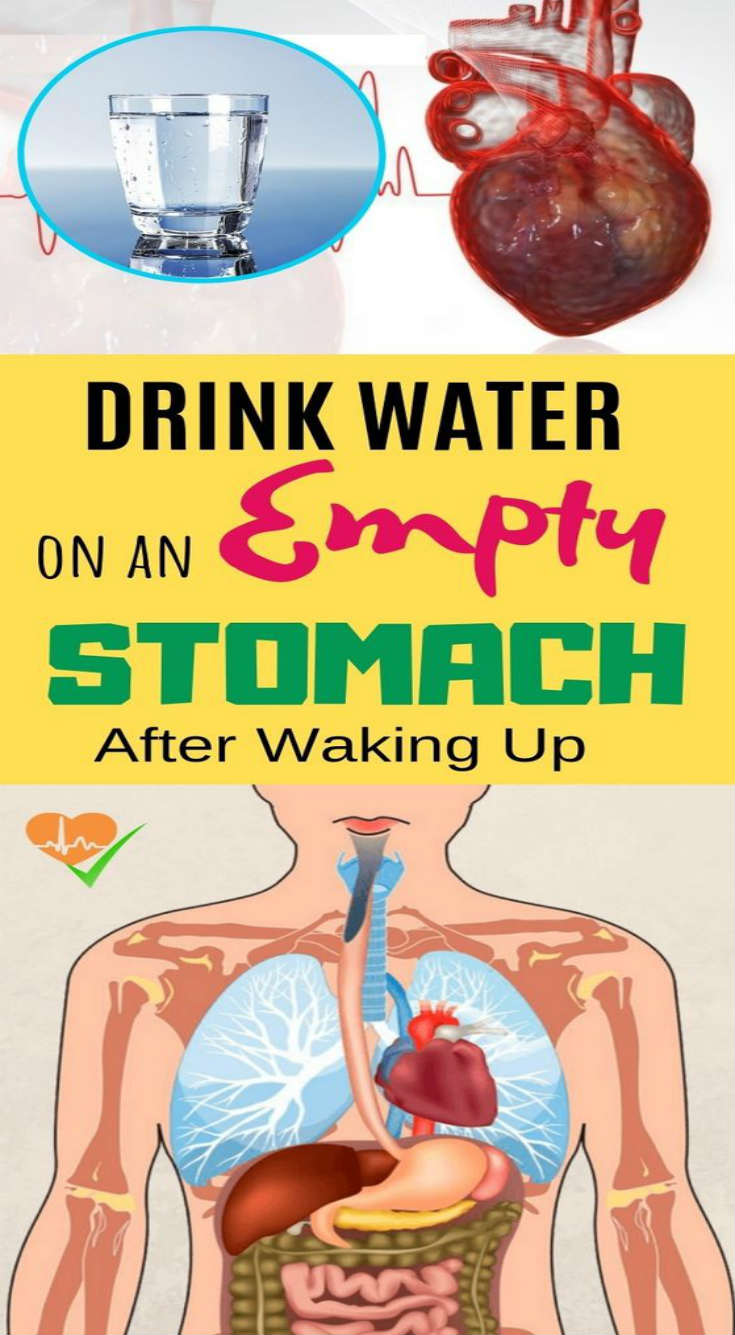 When You Drink Water On An Empty Stomach After Waking Up, These 8 Amazing…