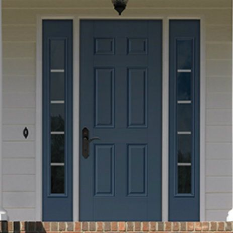 The Therma Tru Fire Rated Steel Door 6 Panel Is Constructed With 24
