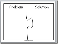 003 problem and solution template Education Teaching