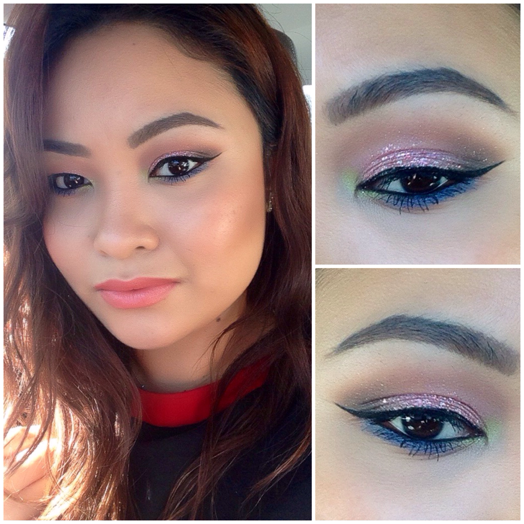 Makeup of the Day: MORE GLITTERS by fahhxxyyy. Browse our real-girl gallery #TheBeautyBoard on Sephora.com & upload your own look for the chance to be featured here! #Sephora #MOTD