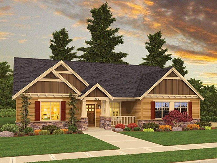 ePlans Country House Plan u2013 Compact Country