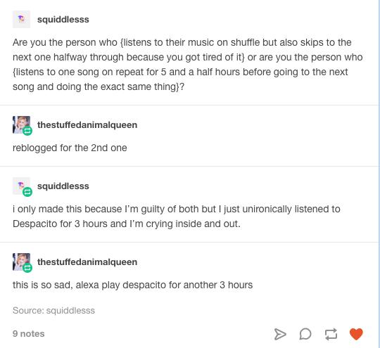 Alexa play despacito
