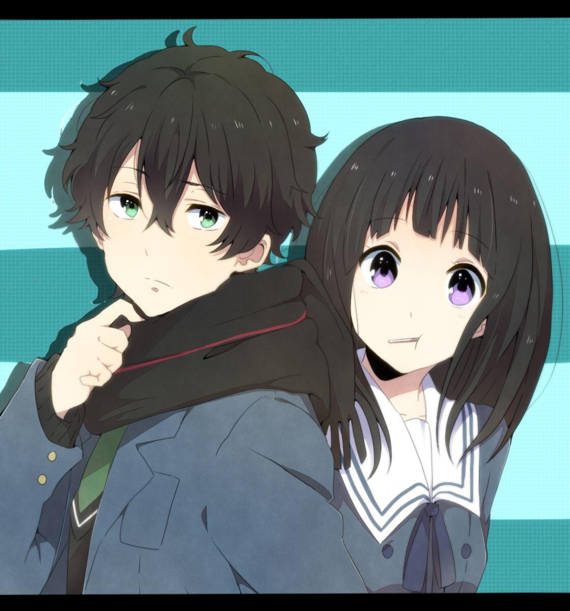 Hyouka, Oreki Houtarou, Chitanda Eru Anime, Manga anime
