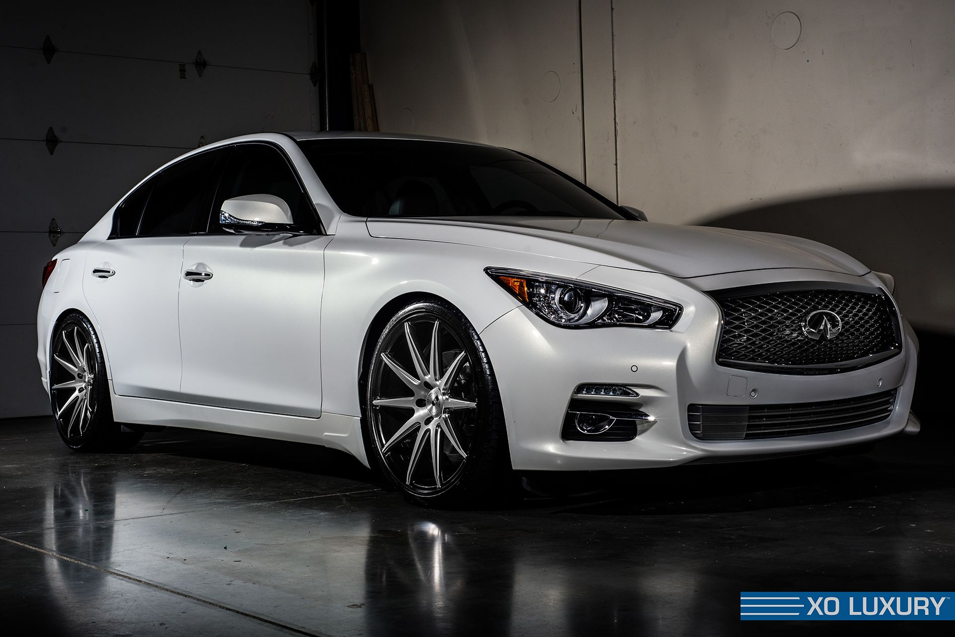 how to tell if q50 has das