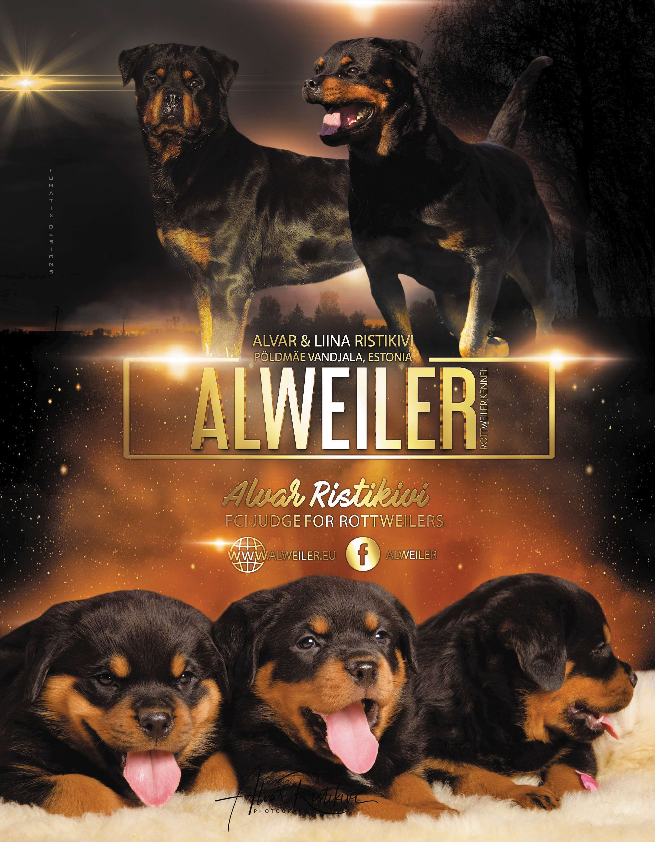 Alweiler Rottweiler Kennel Fci Breed Judge Alvar Ristikivi Liina