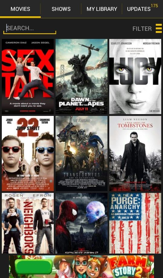 android app movies and tv series