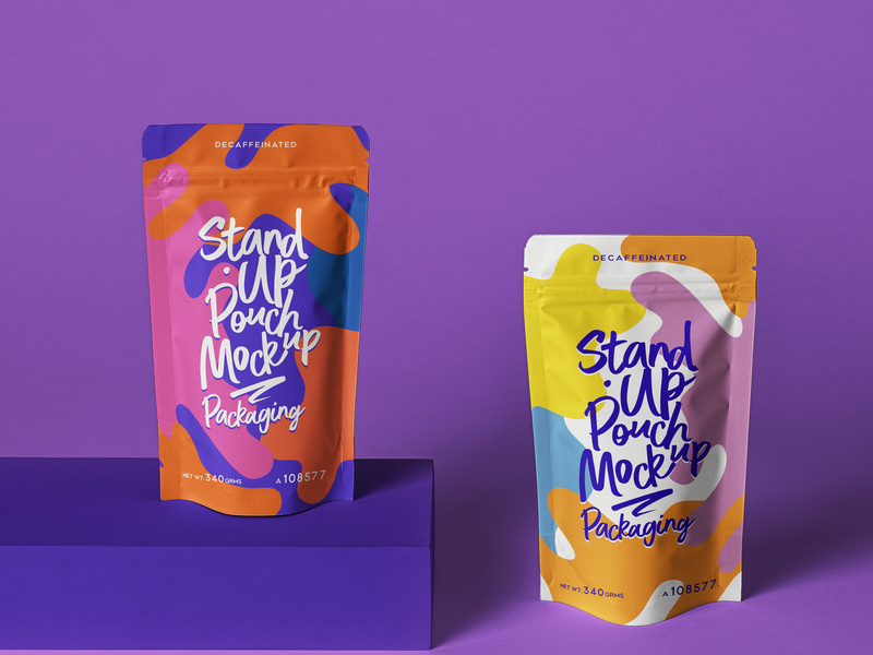 Download Free Psd Stand Up Pouch Packaging Mockup Pouch Packaging Packaging Mockup Packaging