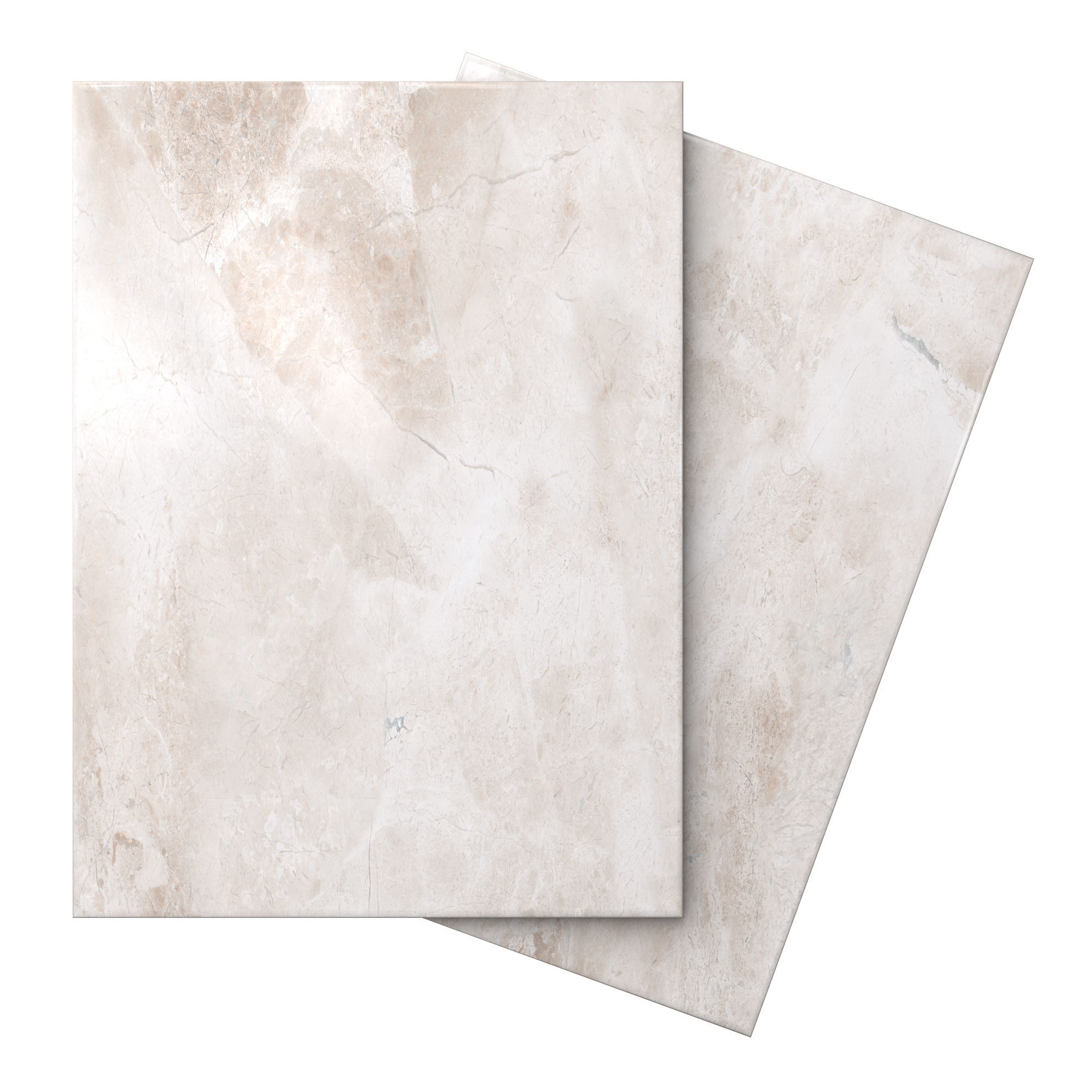 Illusion Cappuccino Marble Effect Ceramic Wall Floor Tile Pack Of 10 L 360mm W 275mm Departments Diy At B Q Tile Floor Tiles Marble Effect