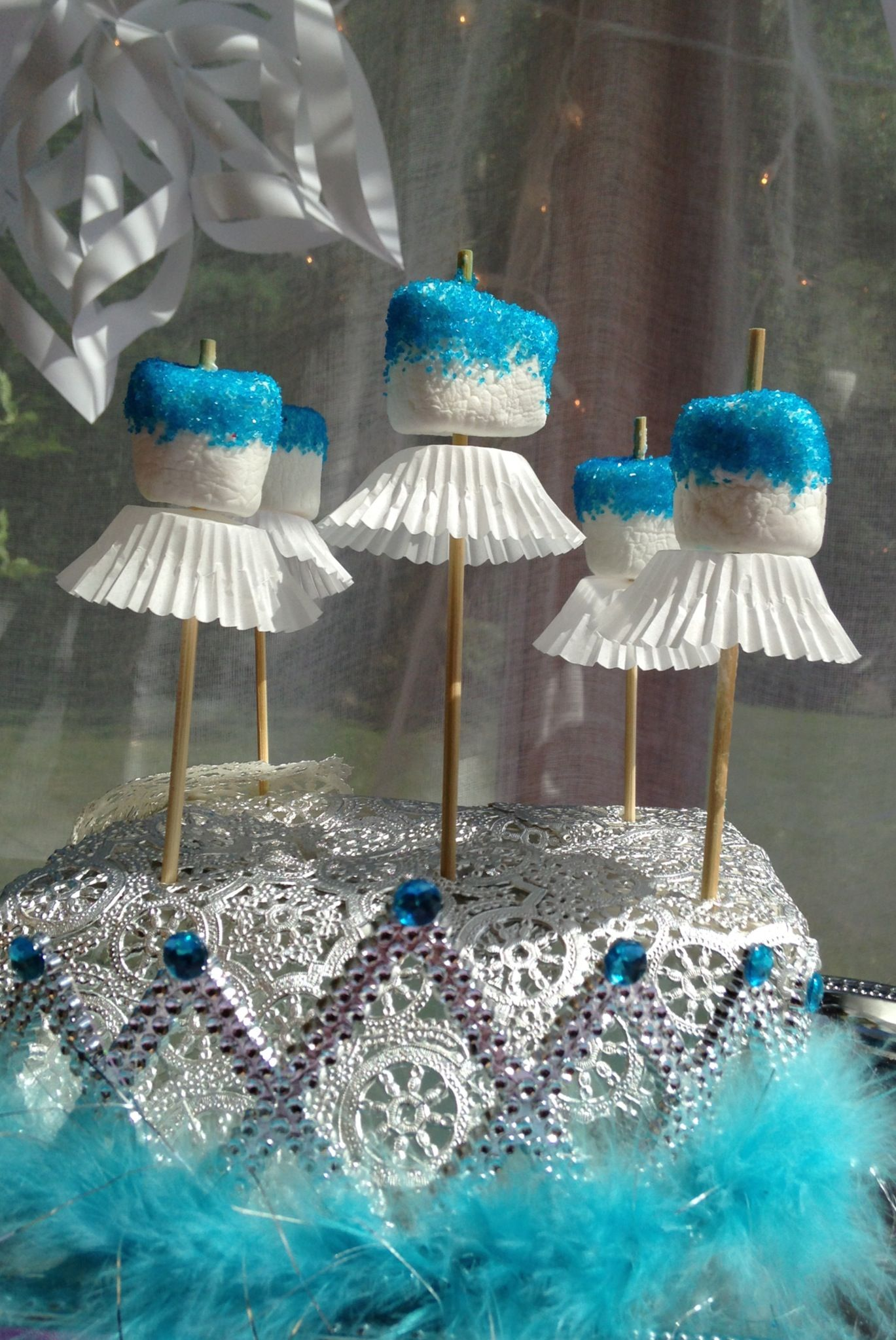 Princess Birthday Party Ideas Frozen Frost Bites New Queen Frostine From