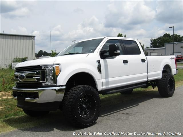 2017 Ford F 250 Super Duty Xlt Lifted 4x4 Crew Cab Long Bed