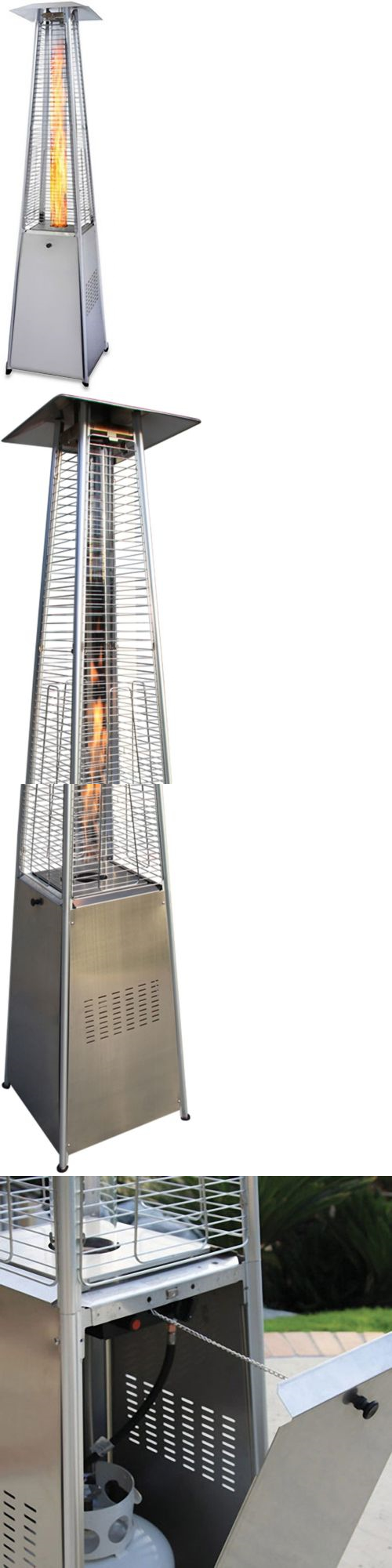 Patio heaters garden radiance grpss dancing flames