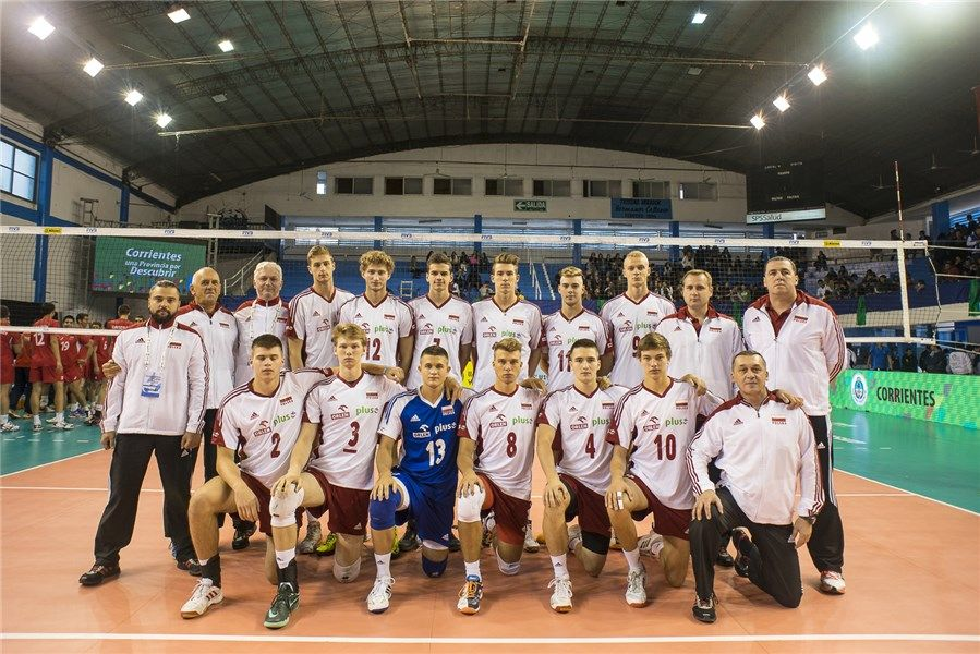 Poland National Team #Volleyball #FIVBBoysU19