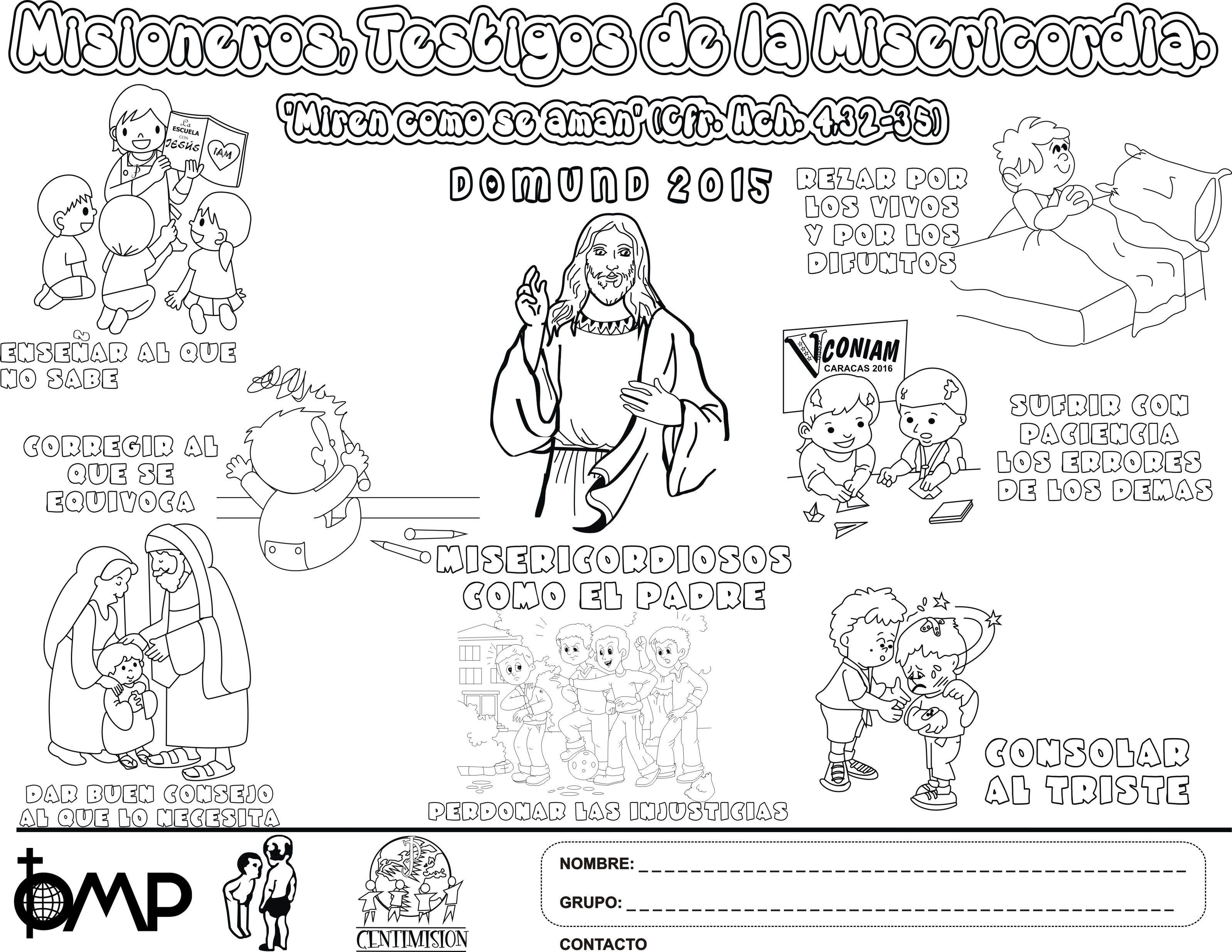 Resultado de imagen para misionero catolico dibujo | Catequesis ...